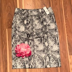 New York & Co. Snake Print Skirt